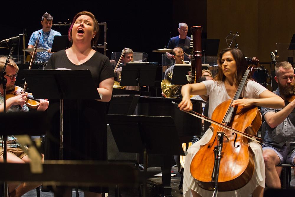 """""""Musicians at Cabrillo Festival of Contemporary Music"""""""