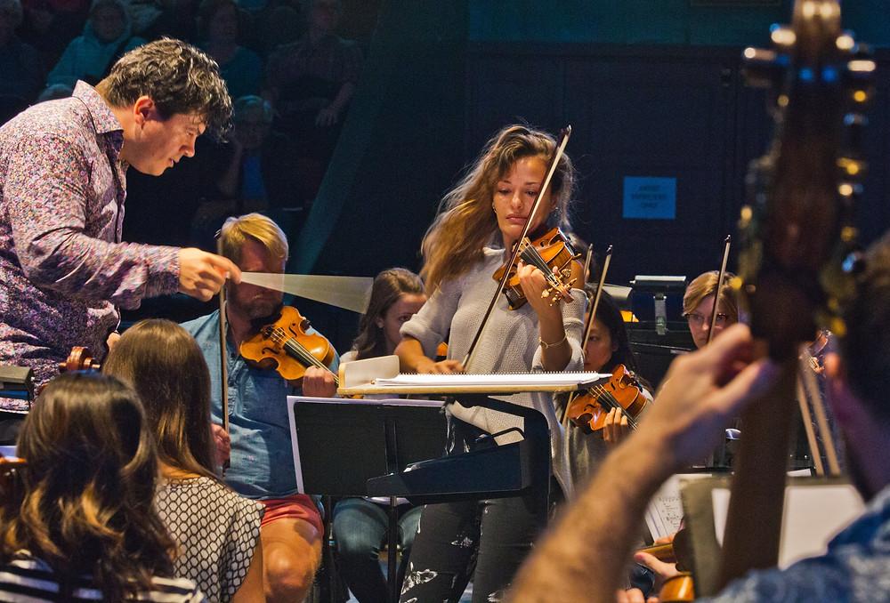 """""""Cabrillo Contemporary Music Festival rehearsal"""""""
