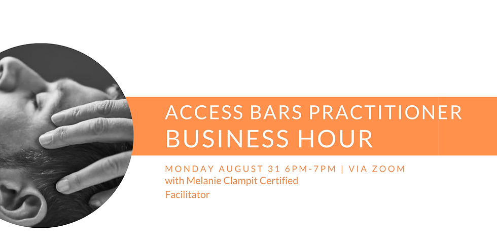 Bars Practitioner Business Hour with Melanie