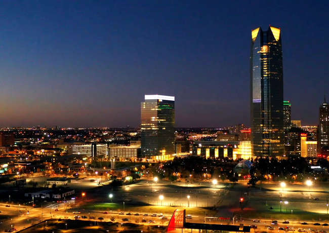 Oklahoma City Time Lapse