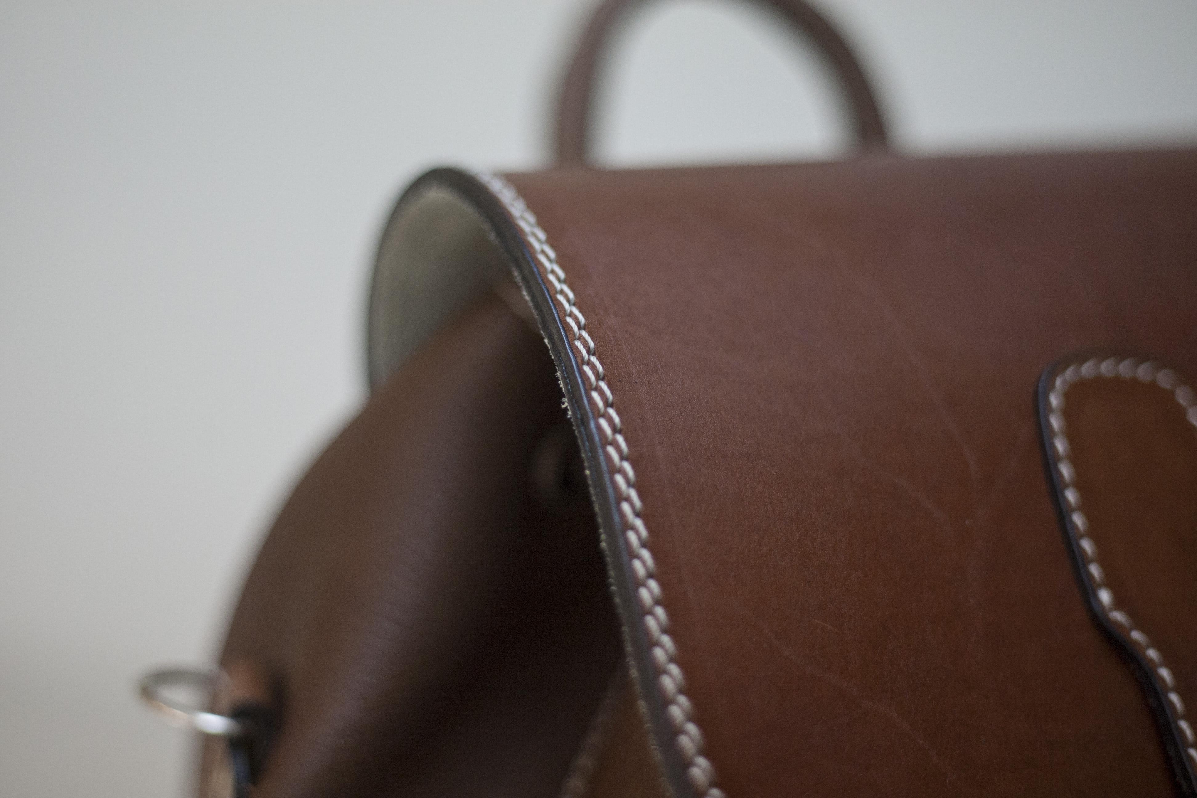 купить кожаный рюкзак ручной работы