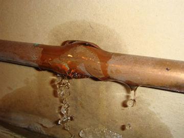 Pipe Leak Plumbing Repair