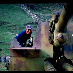 Kriegsschrott Baskan Valley