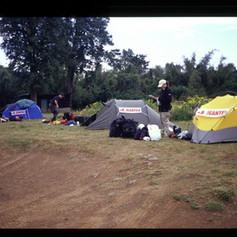 Erstes Lager von Naro Moro