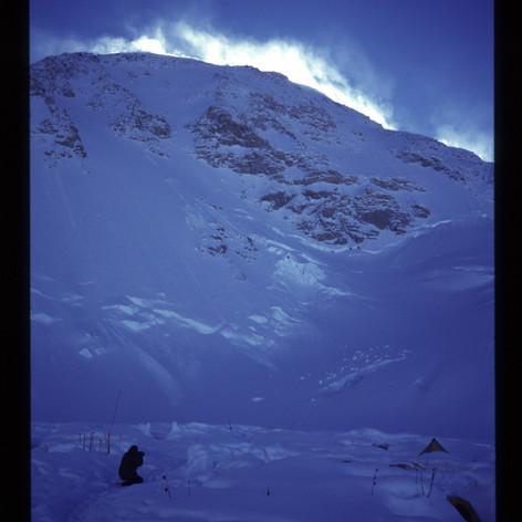 Blick zum Gipfel