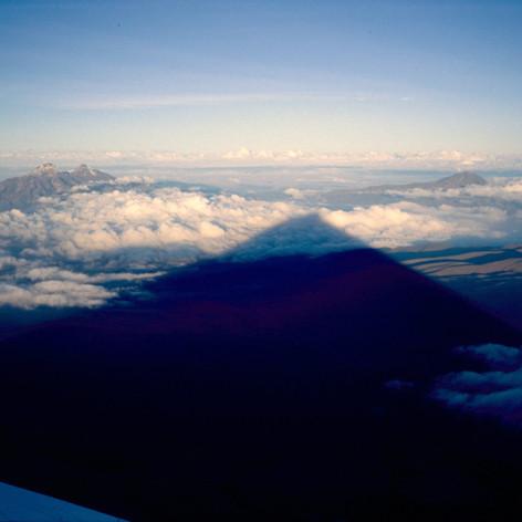 Fernsicht über Equador