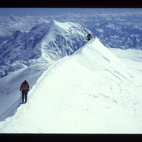 Aufstieg zum Gipfel