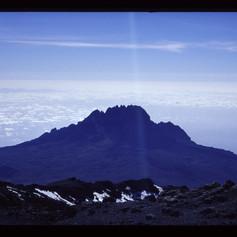 Blick zum Mawenzi Peak
