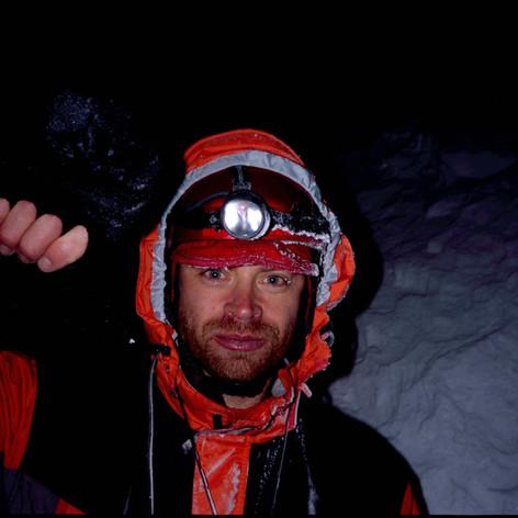 Am Gipfelhang des Chimborazo