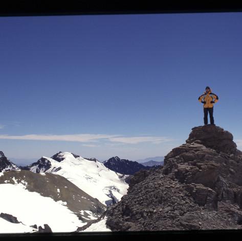 Hochlager und Ausgangspunkt für die Gipfelbesteigung