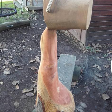 Wenn sich Holz verflüssigt