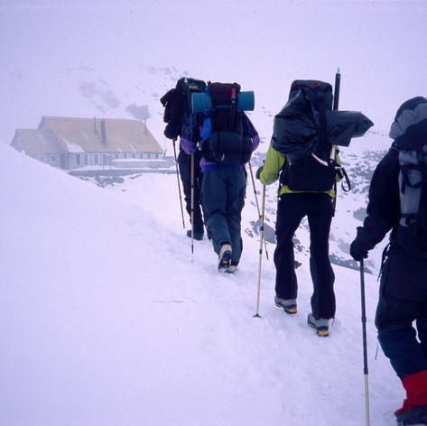 Refugio José Ribas auf 4800m