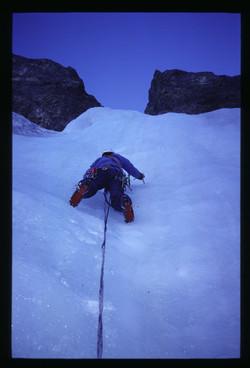 Eisklettern Adelboden