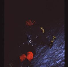 In den Eispassagen der Breach Wall