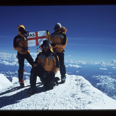 Gipfel, -37°C, Windstill