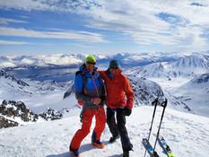 Skitouren Lyngenalpen, Norwegen