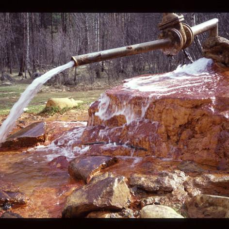 Mineralquelle im Baskanvalley