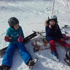 Auch Skifahren will gelernt sein
