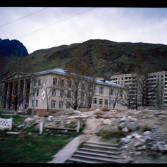 Hotelruine im Baskan Valley
