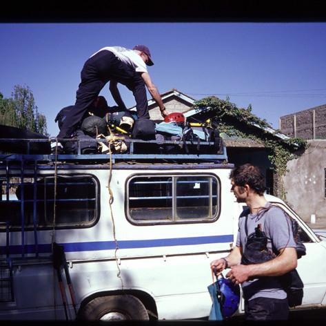 Aufbruch von Nairobi
