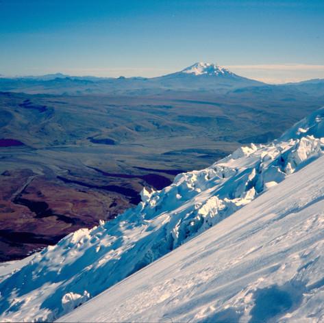 Blick Richtung Illiniza Norte