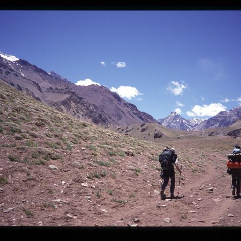 Der lange Weg bis zum Basislager