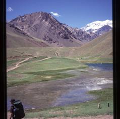 Ausgangspunkt bei der Puente del Inca