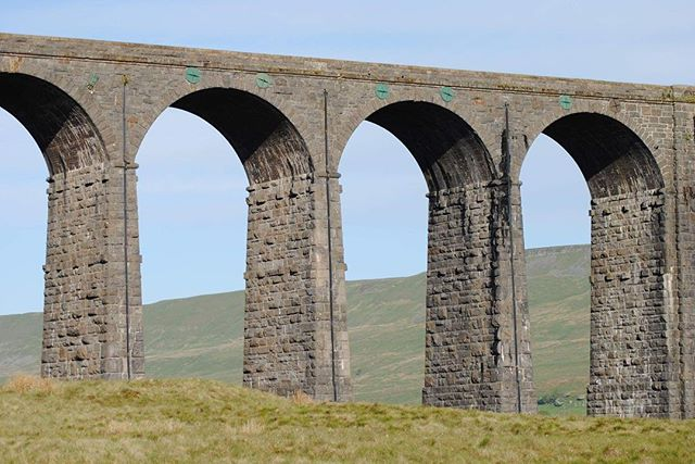 Ribblehead Viaduct yesterday morning..