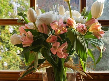 ¿Cómo hacer arreglos florales con las 3B? Buenos, bonitos y baratos.