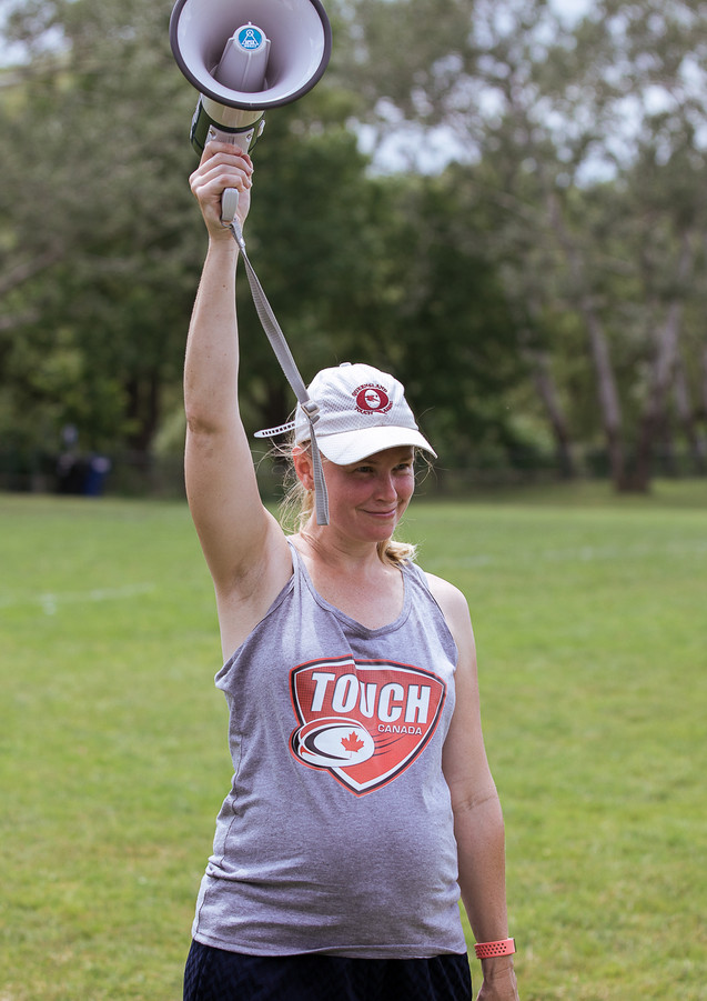 Karen Stead (Consultant, Toronto Touch Rugby)