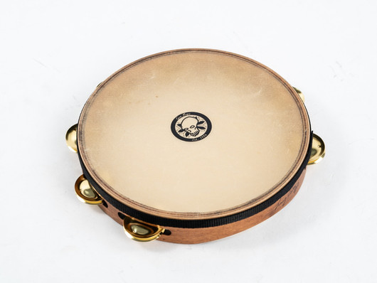 New Lenny Castro Signature Double and Single Row Tambourines by Gon Bops