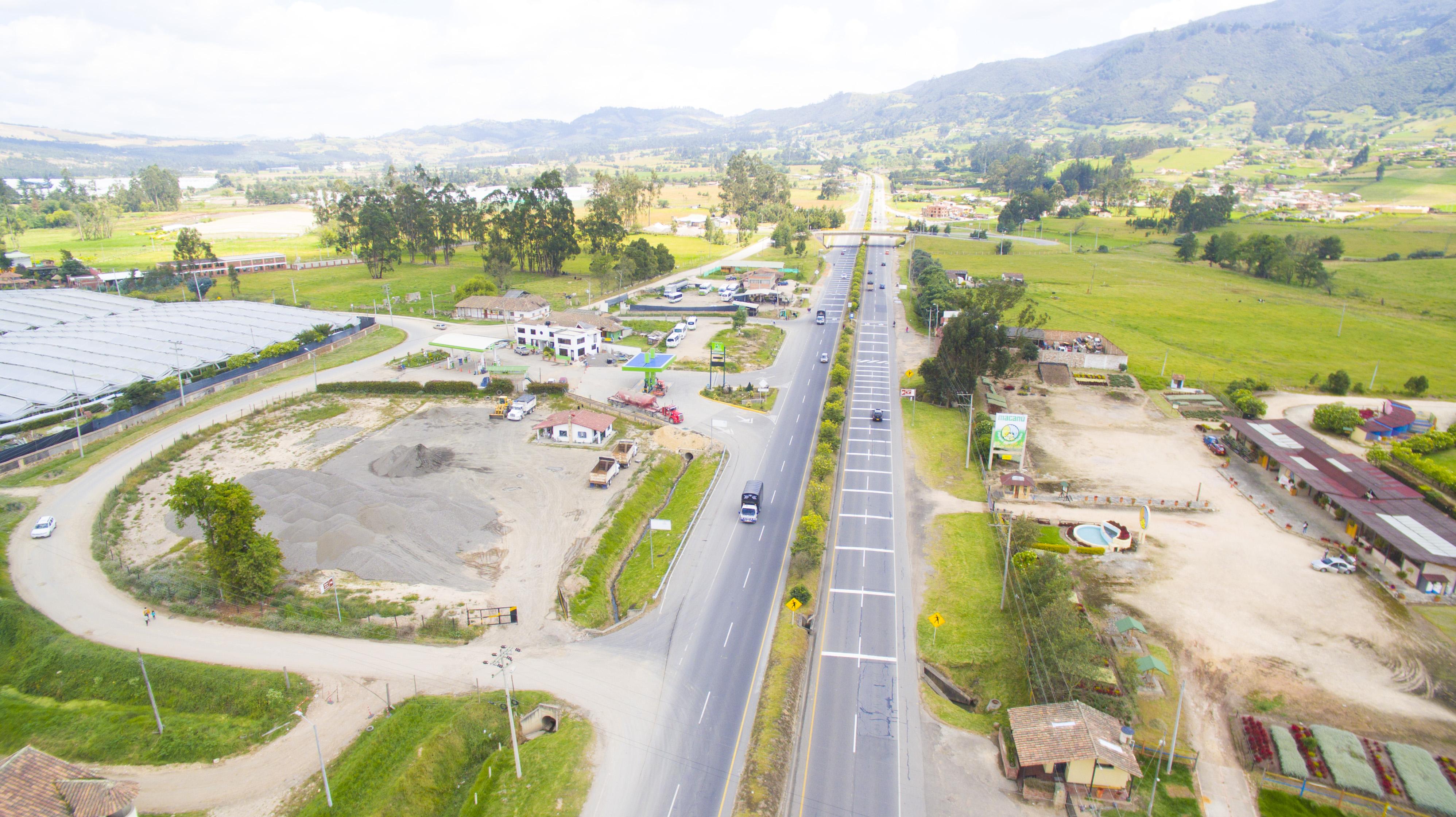 Vía Bogotá-Tunja