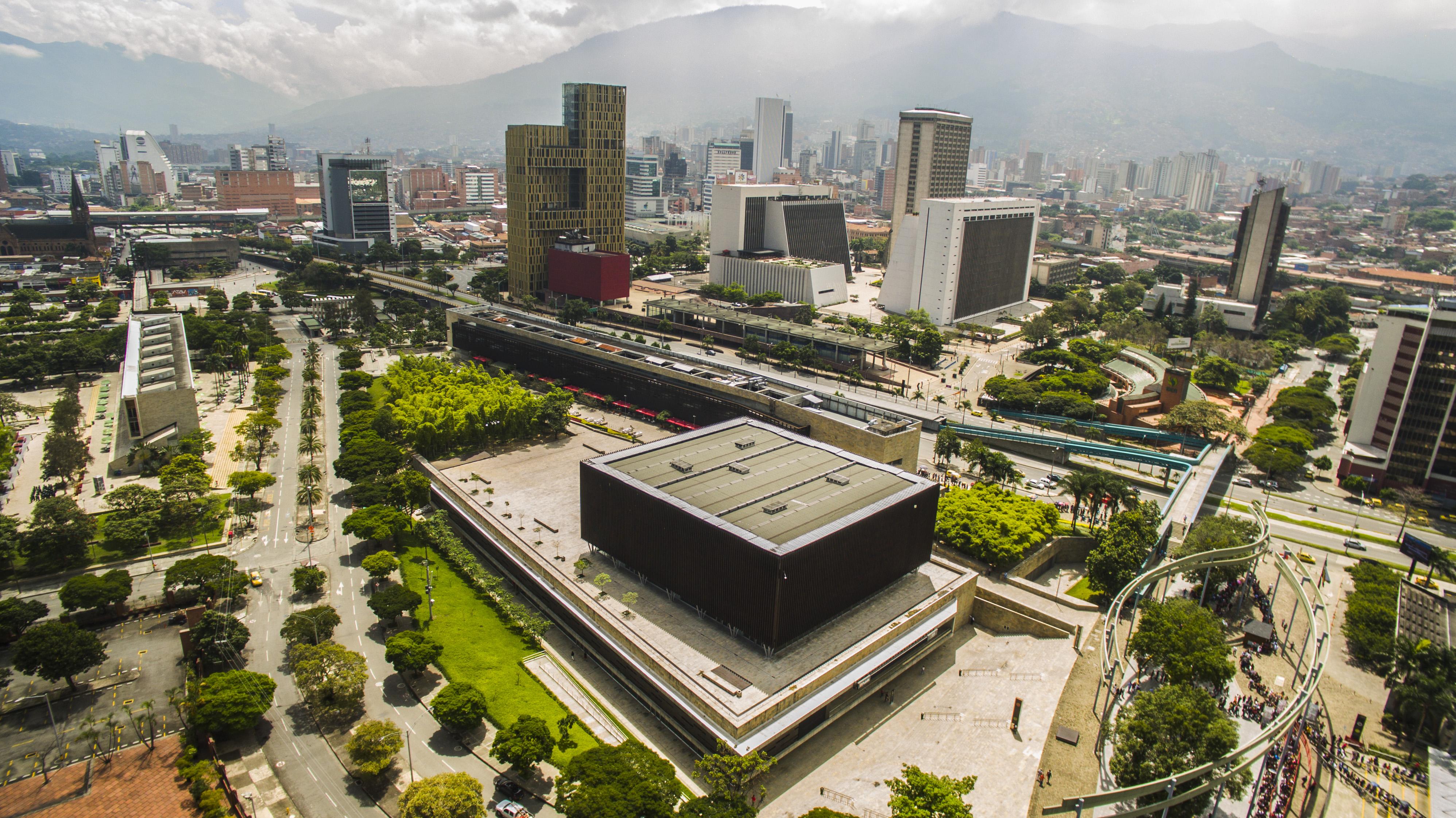 Plaza Mayor, Medellín