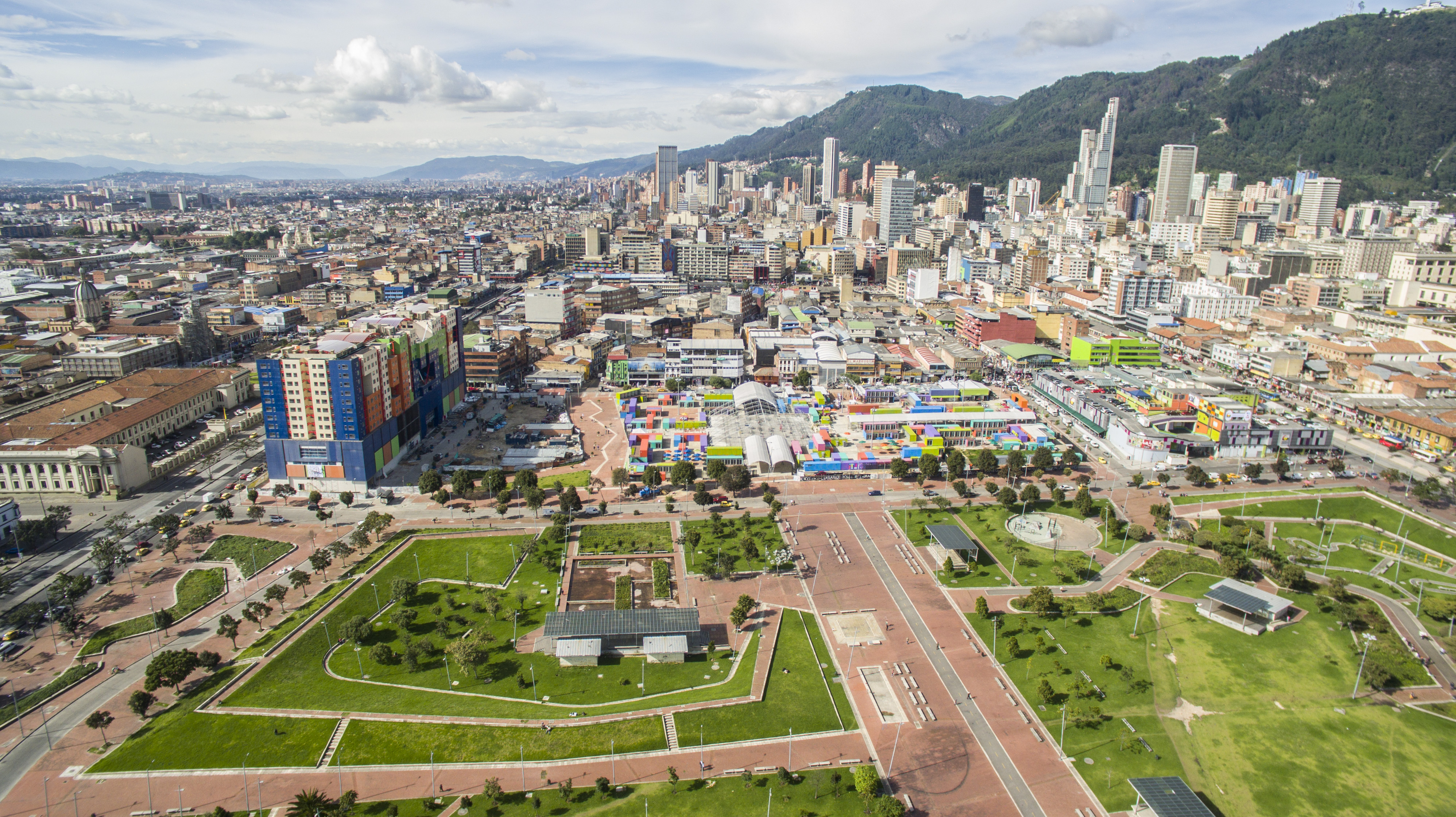 Parque Tercer Milenio, Bogotá