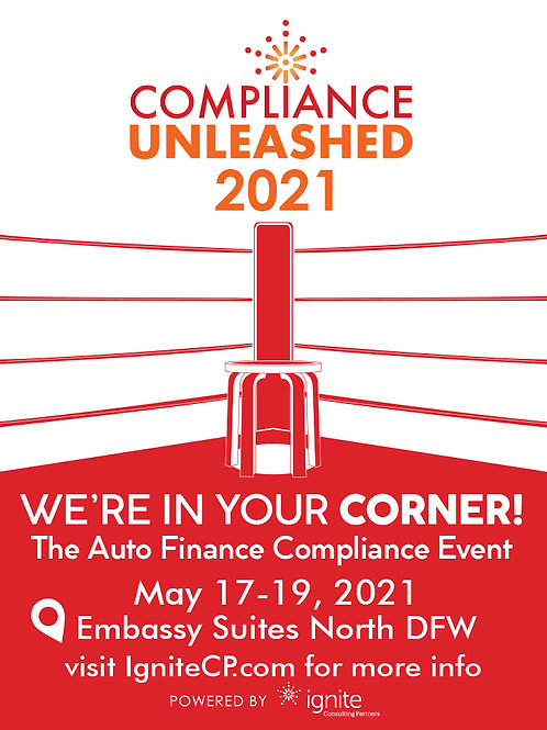 Compliance Unleashed Conference 2021 - Registration Here!
