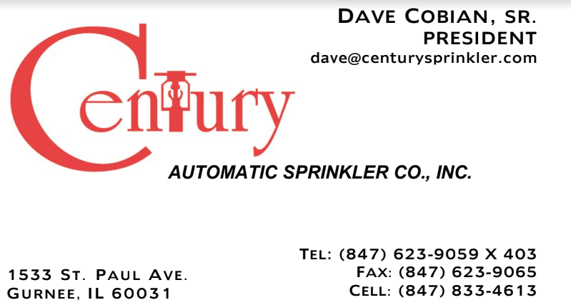 Century Automatic Sprinklers