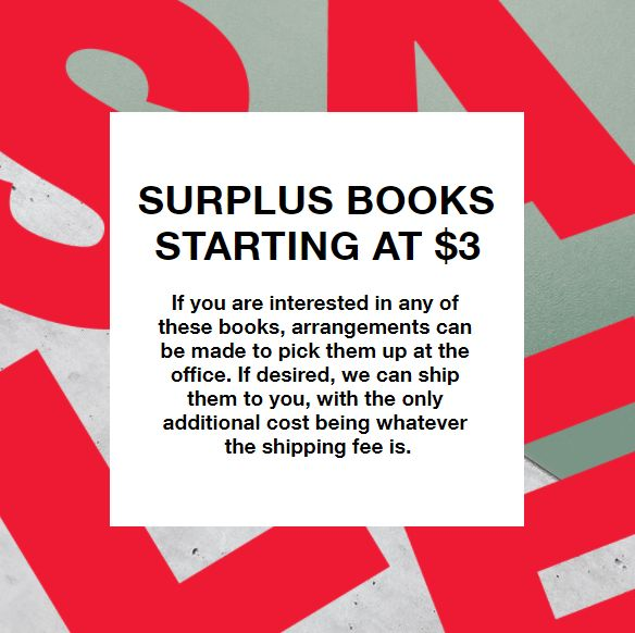 Surplus Books List