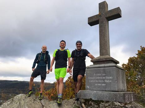 Ultra Trail Lauf und ultra stolz
