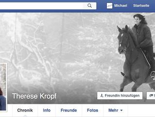 Therese Kropfist bei Facebook.