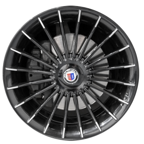 "21"" 2011-2015 BMW Alpina B7 Black Front Wheel 71461"