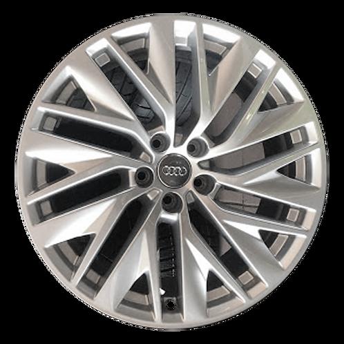 """19"""" 2019-2010 Audi A7 Silver Wheel 59056"""