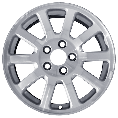 "17"" 2005-2007 Buick Rendezvous Machined Silver Wheel 4063"