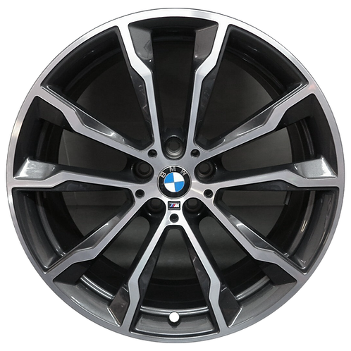 """20"""" 2018-2020 BMW X3 X4 Machined Charcoal Front Wheel 86357 Style 699"""