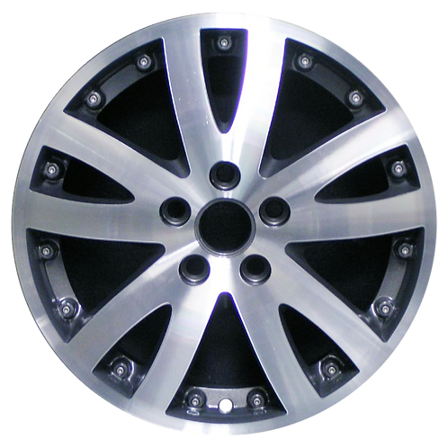 "17"" 2005-2007 Buick Rendezvous Machined Grey Wheel 4049"