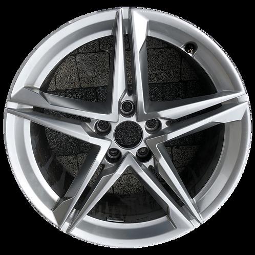 "18"" 2018-2019 Audi A5 S5 Silver Wheel 59080"