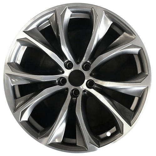 "20"" 2015-2019 BMW X6 Machined Grey Front Wheel 86117 Style 597"