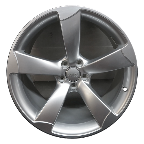"21"" 2013-2018 Audi S7 S8 Machined Grey Wheel 58898"