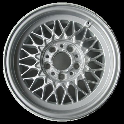 """15"""" 1989-1995 BMW 525i 530i 535i 540i 740i 750i Silver Wheel 59168 Style 5"""