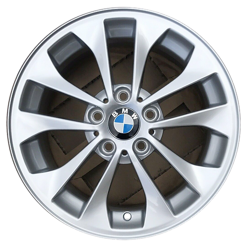 "17"" 2000-2006 BMW 320i 323i 325i 330i Silver Wheel 59385 Style 98"