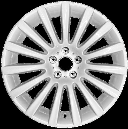 """19"""" 2009-2017 BMW 535i GT 550i GT 740i 750i Silver Rear Wheel 71337 Style 235"""